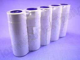 Этикет-лента 21 х 12мм однострочная белая