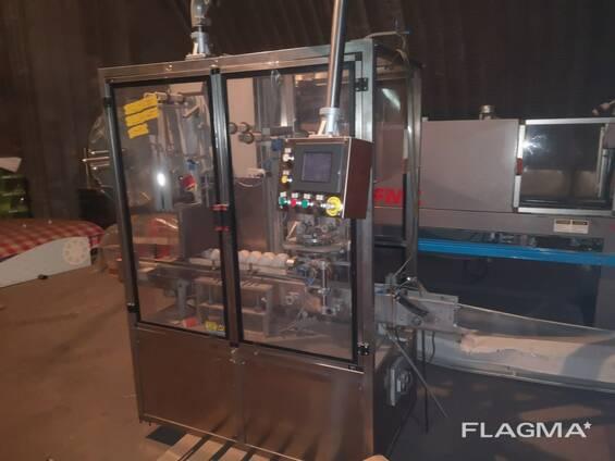 Этикировочная машина для термоусадочной этикетки Fin Pack (Италия)