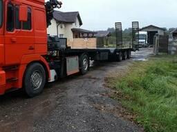 Эвакуация автогрузовых тягачей