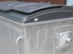 Евроконтейнер для сбора тв. бытовых отходов с пласт. крышкой