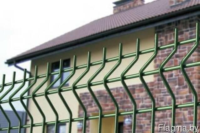 Еврозабор. 3D забор. Европанели. Евроограждение.