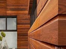 Фасадная доска (планкен) из сосны сорт АВ, толщ.20мм*шир.120