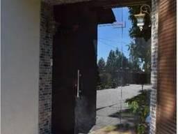 Фасадные двери из стекла - фото 3
