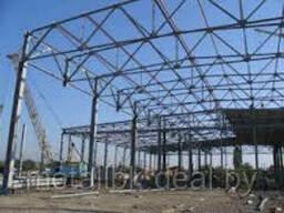 Ферма стропильная, стальная стропильная ферма, стальная стропильная металлоконструкция,