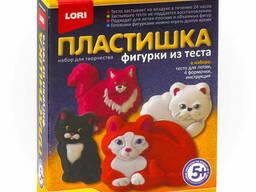 """Фигурки из теста """"Милые кошки"""""""