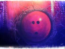 Флуоресцентное граффити