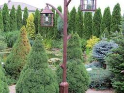 Фонарь садовый кованый
