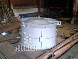 Форма для колец КС бетонных разборная, неразборная