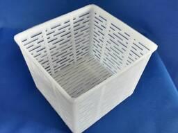 Формы для сыра, форма-сеточка для мягких сыров 500-600 грамм