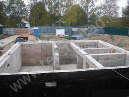 Фундаментные работы, бетонные монолитные и строительные работы.
