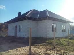 Фундаменты, кладка блоков и др. строительные работы
