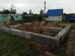 Фундаменты, монтаж, земляные работы
