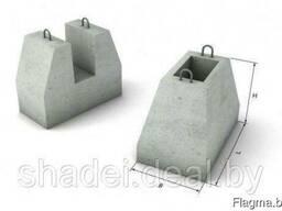 Фундаменты панелей бетонных заборов
