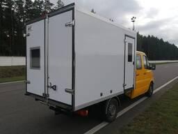 Фургон специальный электролаборатория