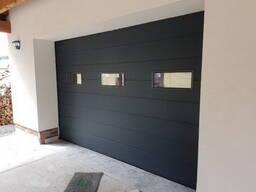 Гаражные секционные ворота - фото 4