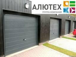 Гаражные секционные ворота Alutech Classic 2500x2500 M-гофр