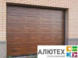 Гаражные секционные ворота Alutech Classic филенка 3750*2500