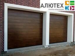 Гаражные секционные ворота Alutech Trend M-гофр 2500*2000