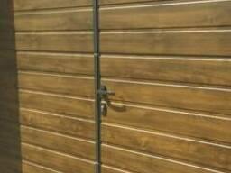 Гаражные секционные ворота Alutech Trend S гофр 2500*2250
