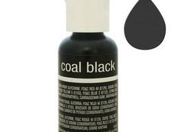 Гелевый краситель Chefmaster Liqua-Gel Coal Black 21 гр.