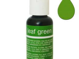 Гелевый краситель Chefmaster Liqua-Gel Leaf Green 21 гр.