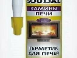 Герметик для каминов и печей Soudal
