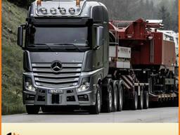 Гидравлический набор на Mercedes Actros