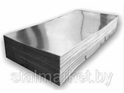 Гладкий лист оцинкованный 0, 4*1250*L мм