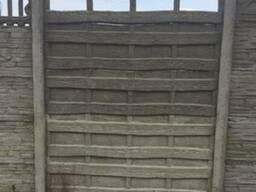 Глянцевый забор