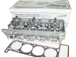 Головка блока цилиндров с прокладкой и крепежом ЗМЗ-406
