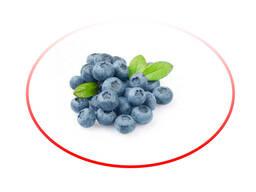 Голубика замороженная садовая/ Frozen garden blueberries