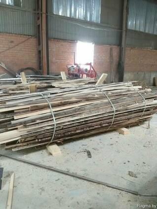 Горбыль, обрезки и прочие отходы от распиловки леса