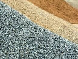 Гравий, гравий мытый, песок, галька, подсыпка