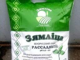 """Грунт растительный торфяной """"ЗЯМЛІЦА"""" Рассадный, 10 л."""