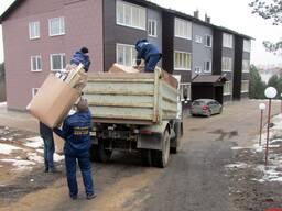 Грузчики. Погрузка, переезд, уборка мусора.