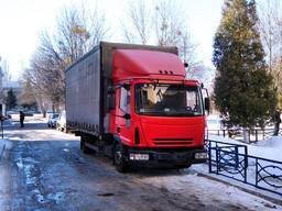 Грузоперевозки автомобилем Iveco EuroCargo до 6 тонн,