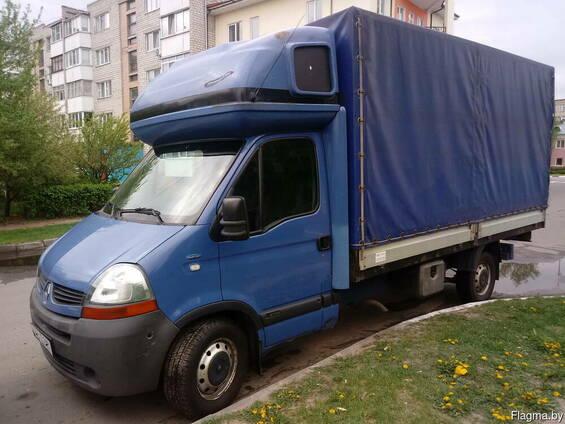 Перевозки до 2х тонн в Жлобине, по РБ и в РФ, грузовое такси