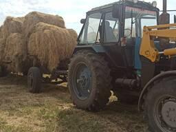 Услуги мтз трактор с Куном и прицепом