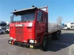 Грузоперевозки открытой -бортовой машиной Scania до 14 тонн