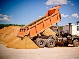 Доставка песка, грунта , щебня, отвала