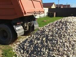 Доставка песка, грунта , щебня
