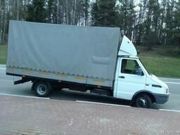 Грузовое такси Минск. Открытые и тентованные авто. До 5 тонн