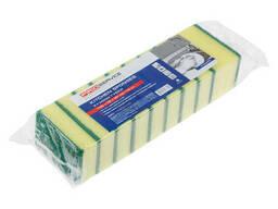Губки кухонные Standard, 10 шт. , 100х70х30 мм, PROservice (для проф. использования в. ..