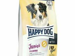 Happy Dog Junior Grainfree - для щенков средних и крупных пород c 7 до 15 мес. птица. ..