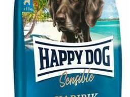 Happy Dog Karibik - монобелковый корм для собак-аллергиков с рыбой