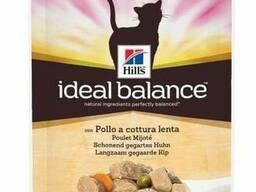 Hills IB Feline Adult Chickenamp;Vg - куриные кусочки в соусе с овощами для кошек. ..