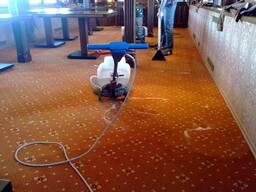 Химчистка ковролина в офисах