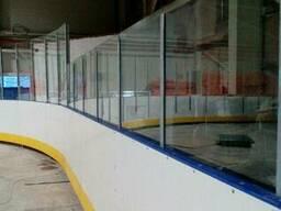 Хоккейный корт , высокомолекулярный полиэтилен