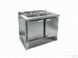 Холодильный стол для салатов HiCold SLE3-11GN для салатов (без крышки)