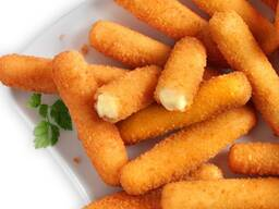 Хрустящие сырные палочки в наличии